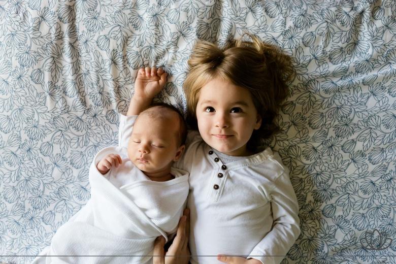 可愛い子供達の写真