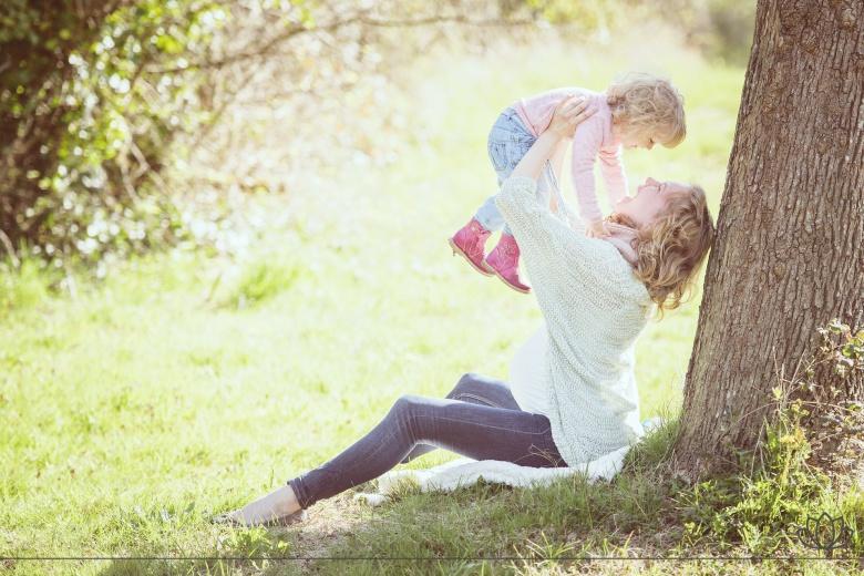 子育ての写真